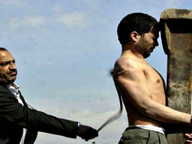 Man is flogged in Iran AFP