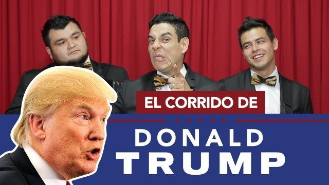 Mexico making fun of Donald Trump - YouTube