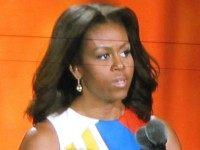 Michelle Obama at Special Olympics (Michelle Moons / Breitbart)