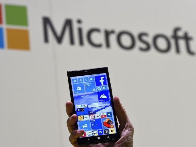Microsoft Windows Phone (Tobias Schwarz / AFP / Getty)