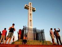 Mount Soledad Cross (Sandy Huffaker / Getty)
