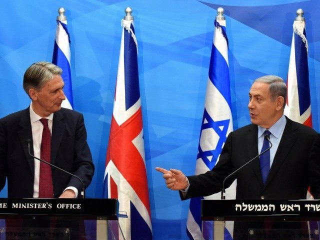 Netanyahu Hammond (Debbie Hill / AFP / Getty)