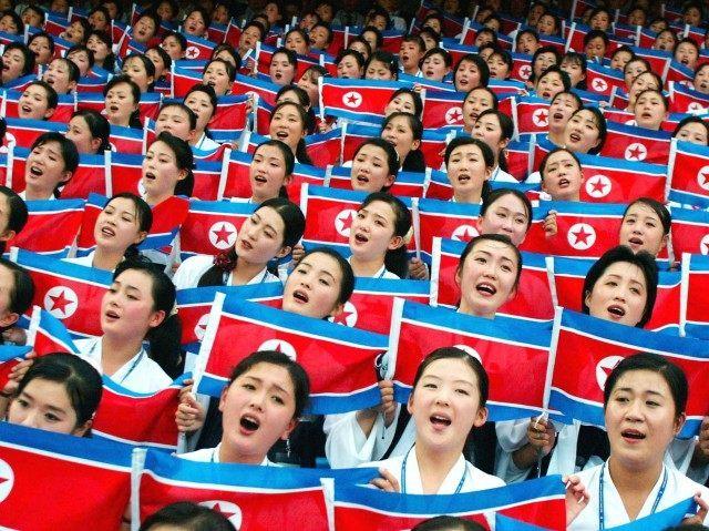 North Korea love (Chung Sung-Jun / Getty)