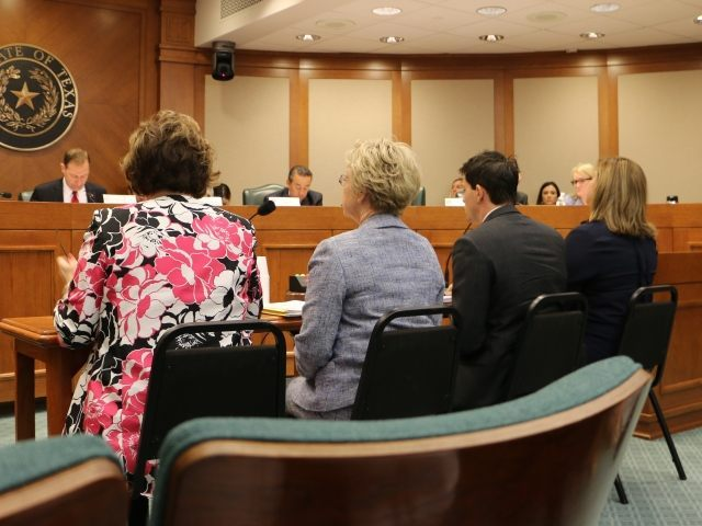 Planned Parenthood members testifying before Texas Senate investigating committee. (Photo: Texas Right to Life)