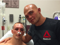 Robbie Lawler and Rory MacDonald