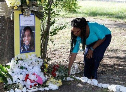 Sandra Bland Memorial - AP Photo - Pat Sullivan