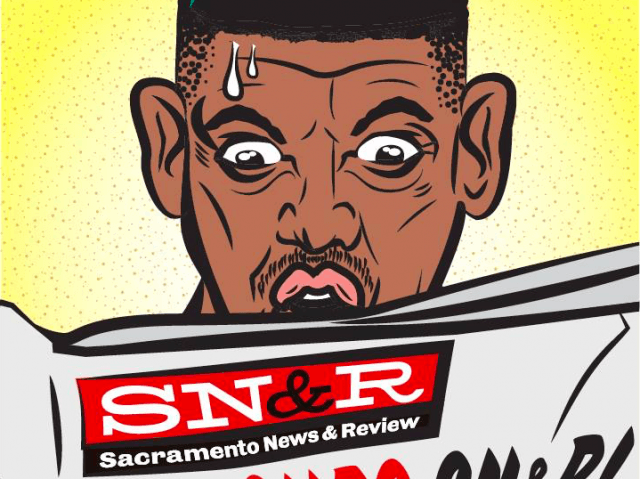 SN&R Cartoon Kevin Johnson (Facebook)
