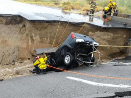 I-10 bridge collapse (CalFire / USA Today)
