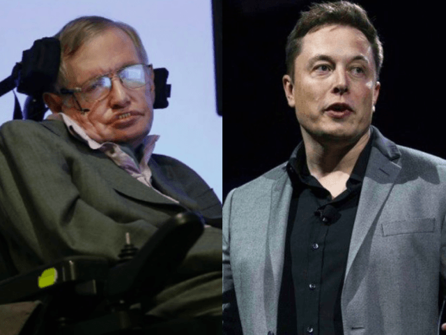 Hawking and Musk (Breitbart News & Wires)