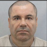 A new jail photo of El Chapo.