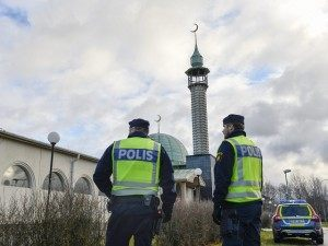 SWEDEN- MOSQUE-CRIME
