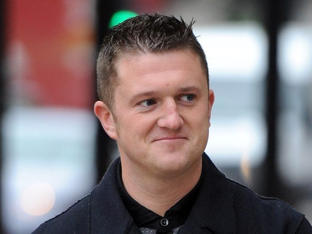 Tommy Robinson AFP