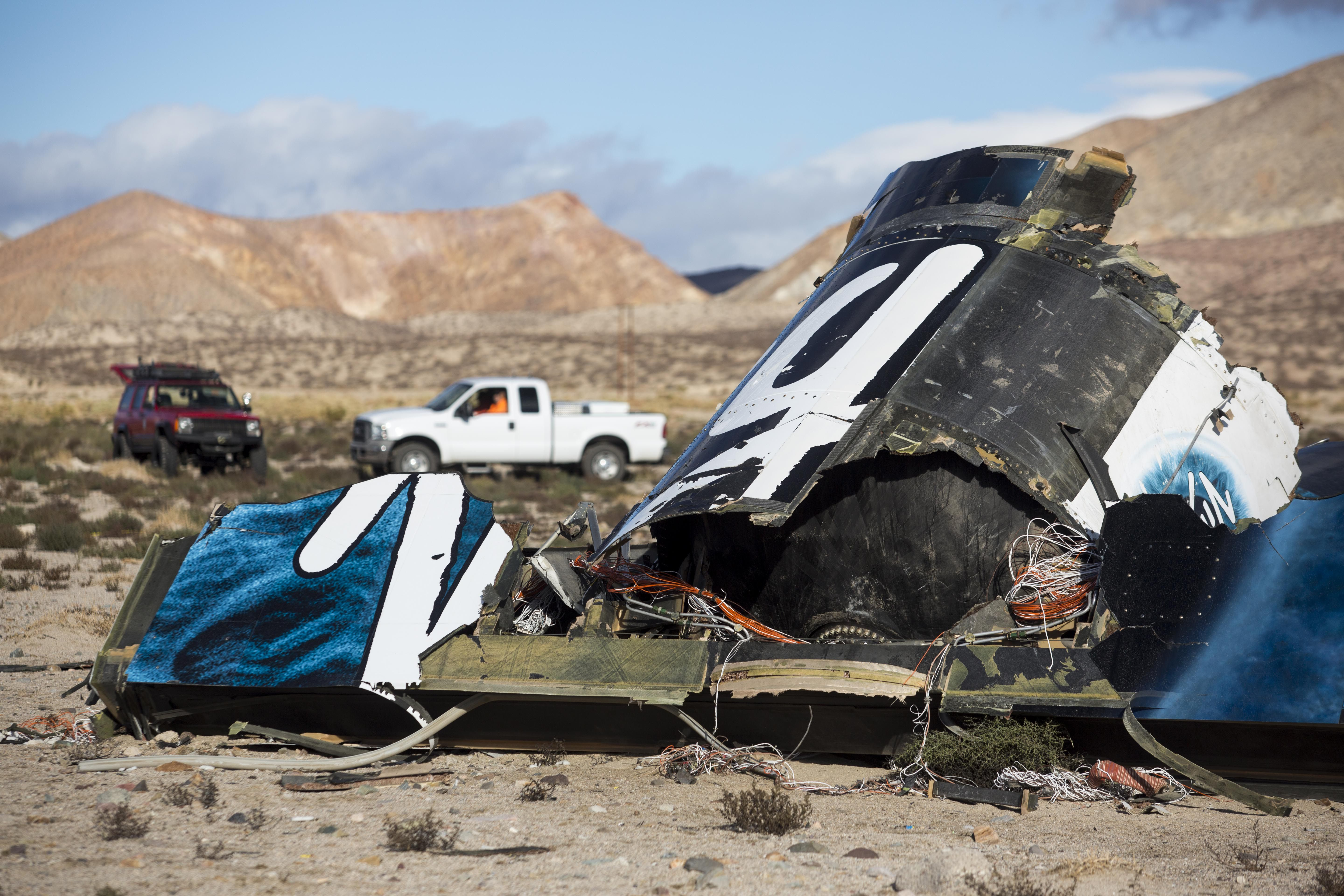 ntsb releases report on deadly virgin galactic spaceship crash over california breitbart
