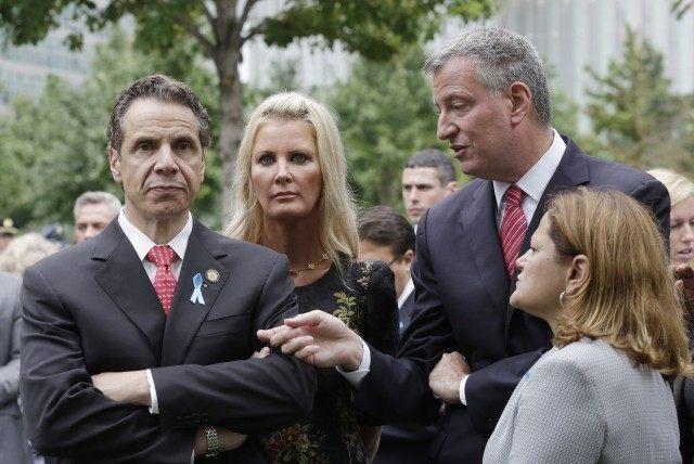 Bill de Blasio, Sandra Lee, Melissa Mark-Viverito, Andrew Cuomo