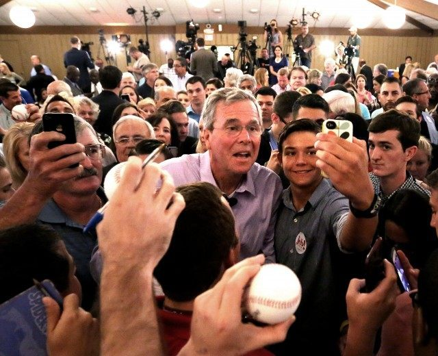Jeb Bush rallies in Maitland