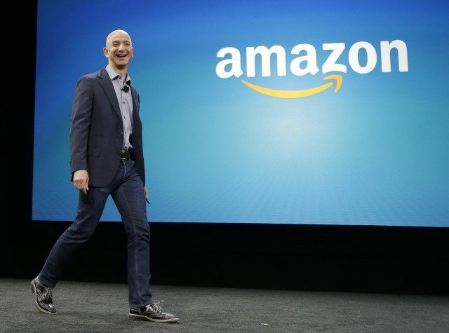 Jeff Bezos; Amazon