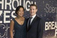 Priscilla Chan Mark Zuckerberg