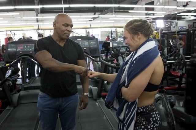 Ronda Rousey, Mike Tyson