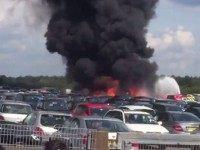 private jet crash in hampshire, england