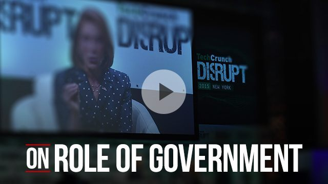 Carly Fiorina on the role of government
