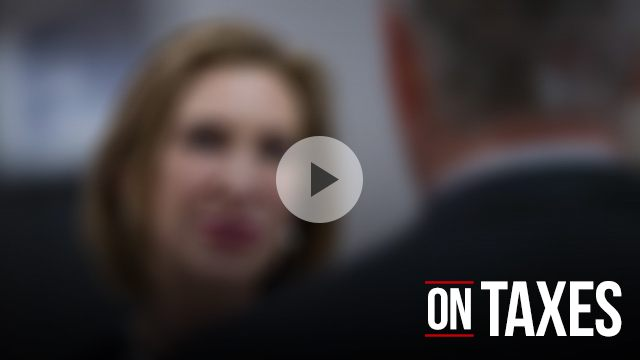 Carly Fiorina on taxes
