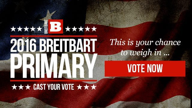 Vote in the Breitbart Primary