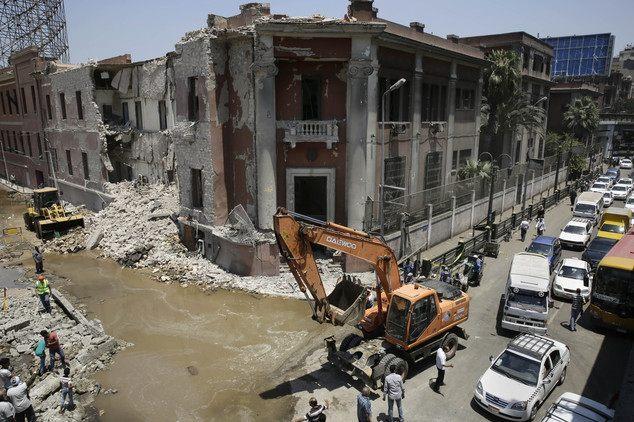 Mideast Egypt Explosion