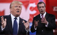 Farage: I'm not a Trump Supporter, A U.S.-Mexico Wall is 'Impractical'