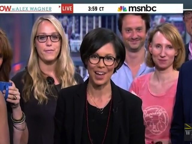 Alex Wagner Says 'Woo! Sh*t' on Her Final MSNBC Broadcast