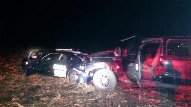Cartel gunmen ambushed a Mexican federal police patrol car killing one officer.