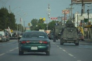 Mexican soldiers rush to put down cartel shootouts in the border city of Matamoros