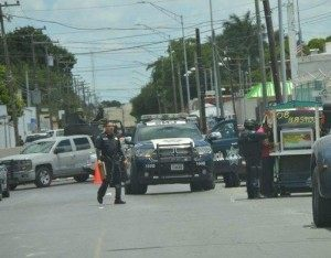 Mexican federal authorities have beefed up their security around the U.S. Consulate in Matamoros