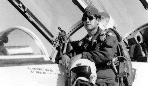 "Captain James Richard ""Rick"" Perry flew C-130 tactical aircraft in the Middle East and Europe from 1972 to 1977,"