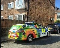 gay police car