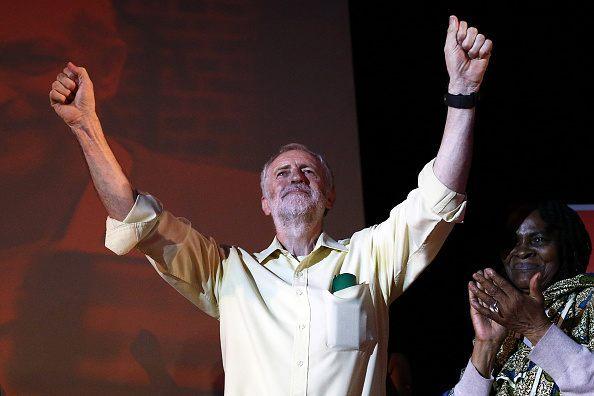 Corbyn rampant