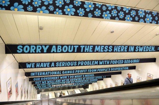 Sweden Democrats Anti-Begging Ad