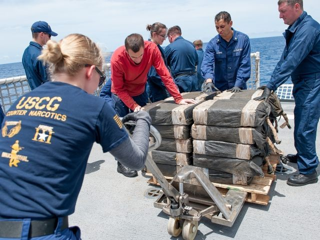 Drug Smugglers at sea