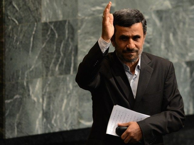 Ahmadinejad (Emmanuel Dunand / AFP / Getty)