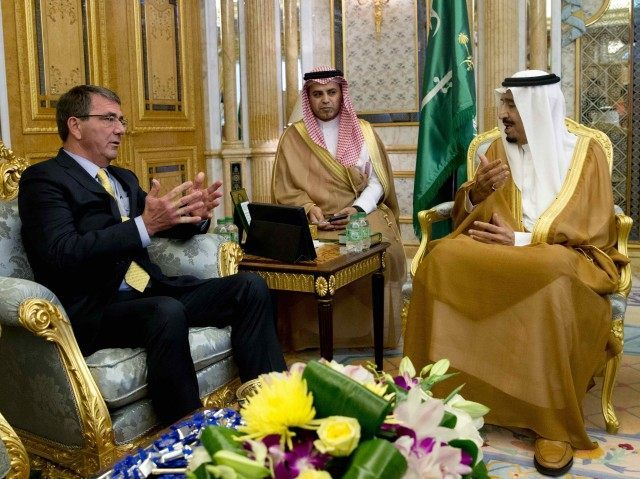 Ash Carter Saudi Arabia (Getty)