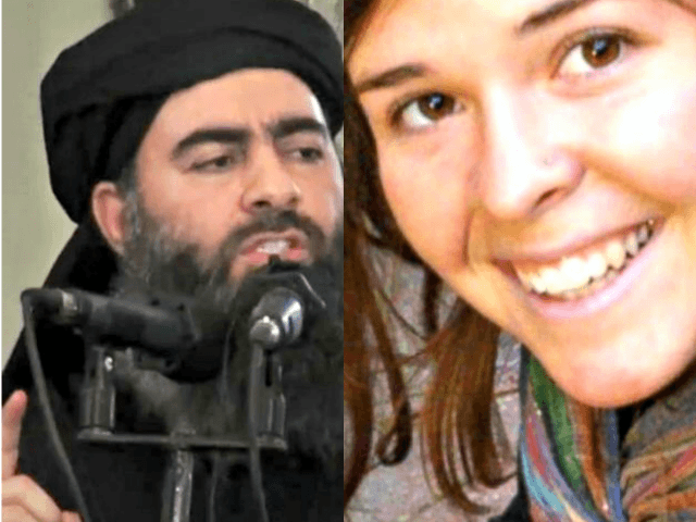 ISIS Chief Baghdadi Used American Hostage Kayla Mueller as Sex Slave