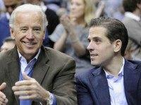 Vice President Joe Biden and Hunter Biden, File