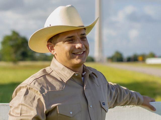 Briscoe in Cowboy Hat