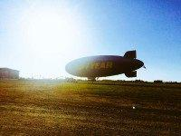 Goodyear blimp (Twitter)