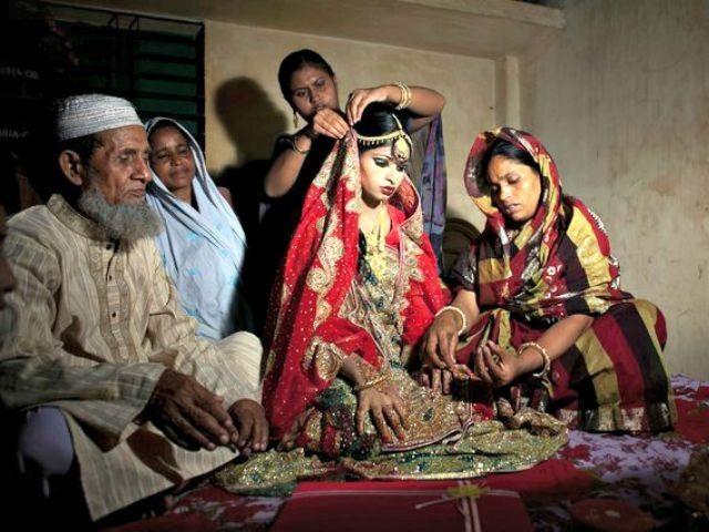 Image result for child marriage in bd