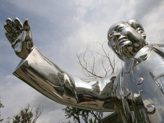 China Mao statue (Mark Ralston / AFP / Getty)