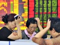 Chinese Financial Crisis AP Photo