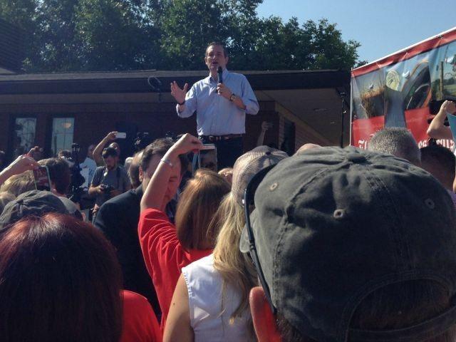 Ted Cruz at Iowa state fair August 21, 2015.