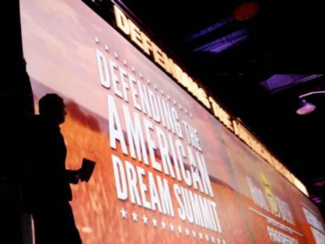 the Defending the American Dream summit hosted by Americans for Prosperity, Friday, Aug. 21, 2015. at the Greater Columbus Convention Center in Columbus, Ohio. Photo: