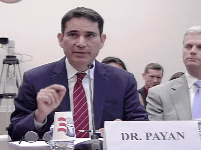 Dr Payan Testified before Congress about Mexico's energy reform program.