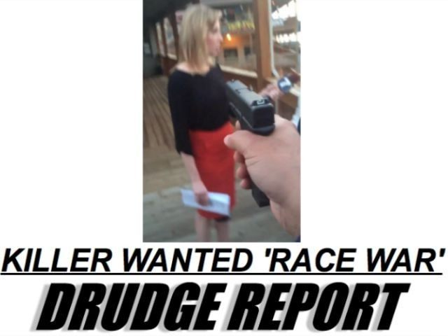 Drudge Report Screen Shot Race War